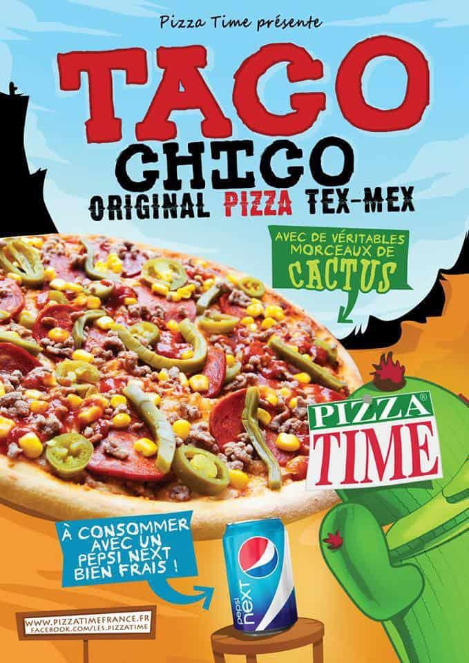 La pizza Taco Chico