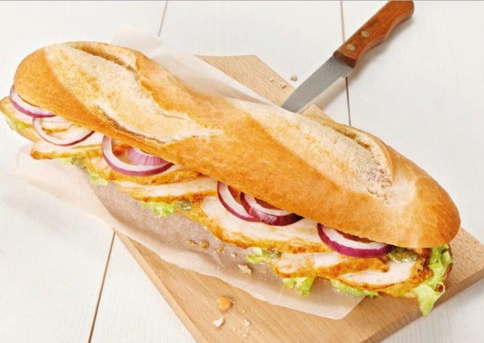 Sandwich saveur du sud