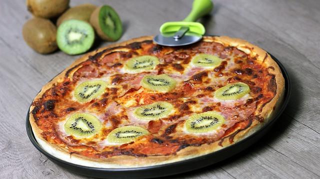 Pizza au kiwi