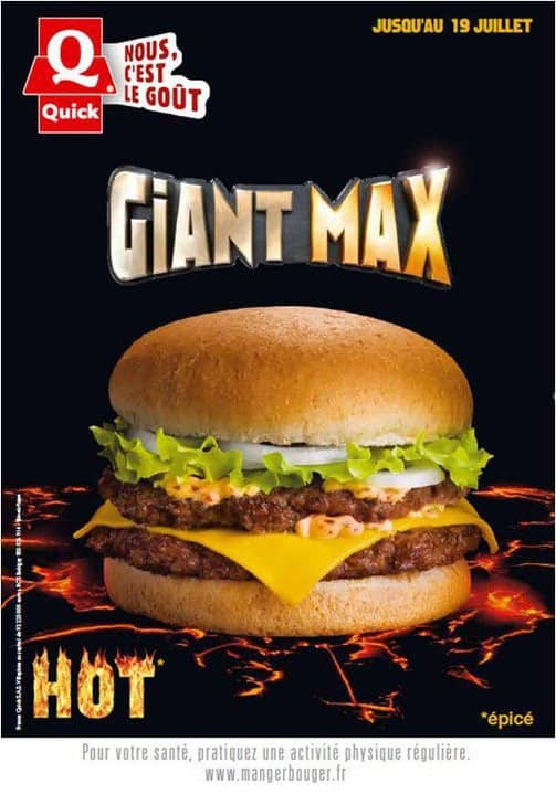 Affiche Giant Max