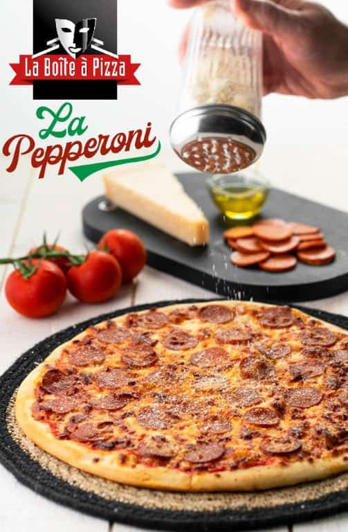 La pizza Pepperoni