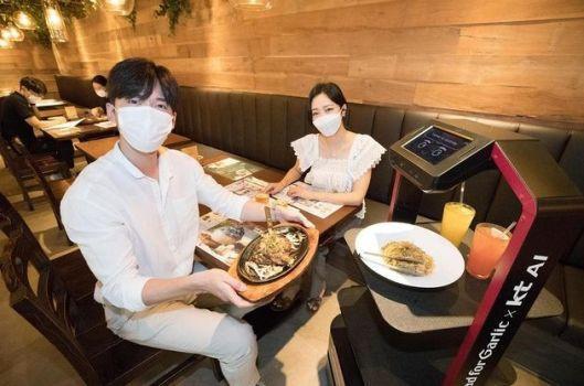 Robot au restaurant