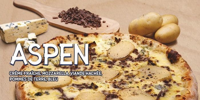 Speed Rabbit Pizza et sa pizza d'hiver : L'Aspen