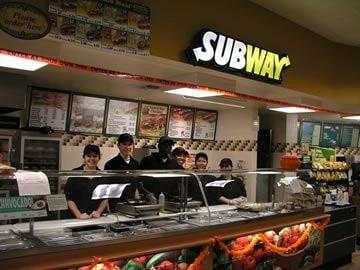 Subway à Guingamp