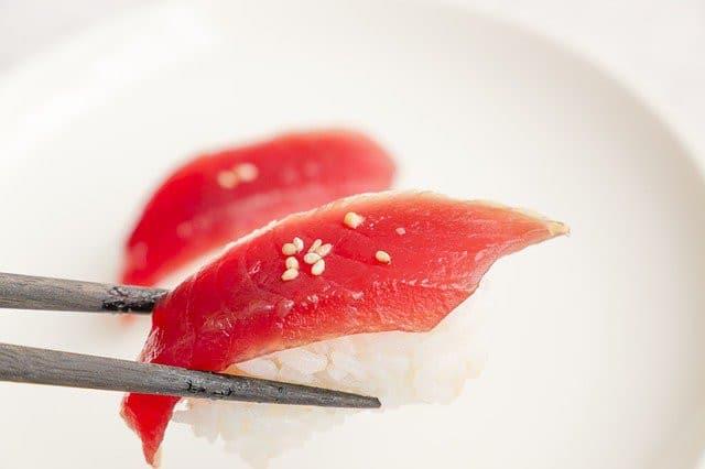Infection par le sushi