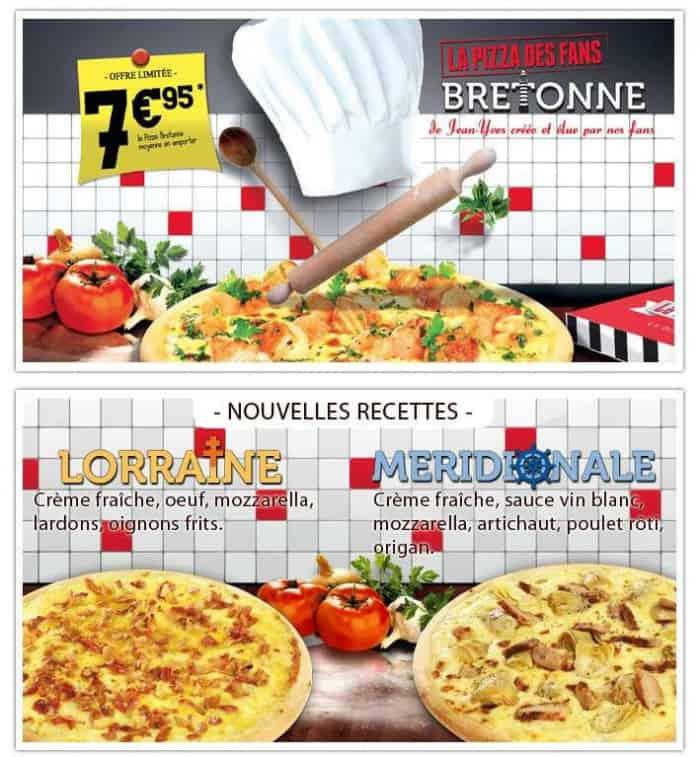 Deux nouvelles recettes de pizza