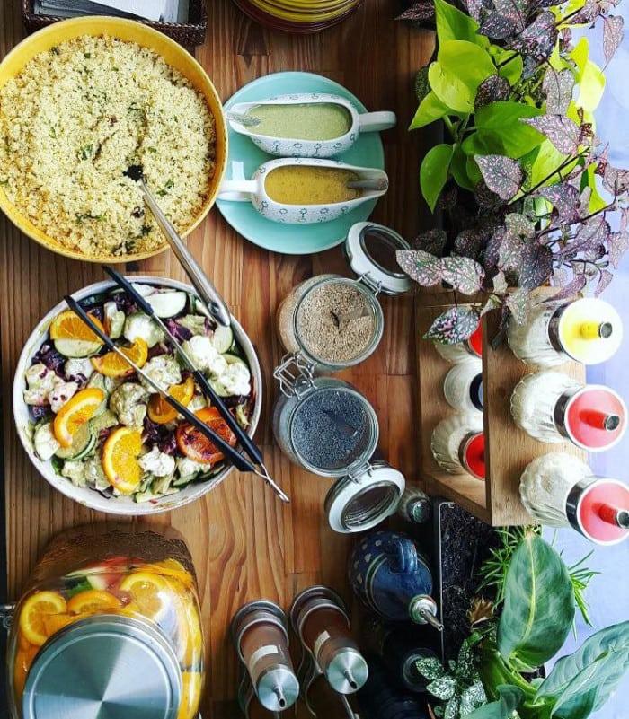 Brunch bio et végétarien