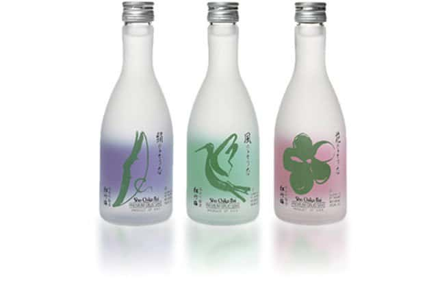 Bouteille de Saké Ginjo