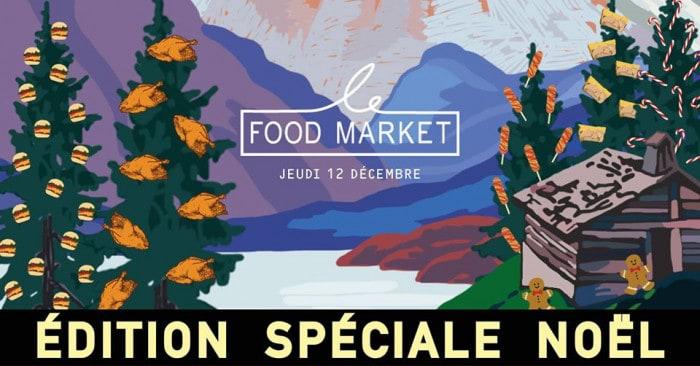 Le Food Market spécial Noël