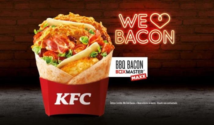 BBQ Bacon boxmaster maxx