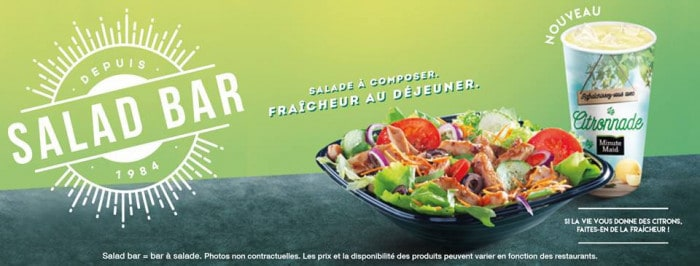 Salad Bar Subway