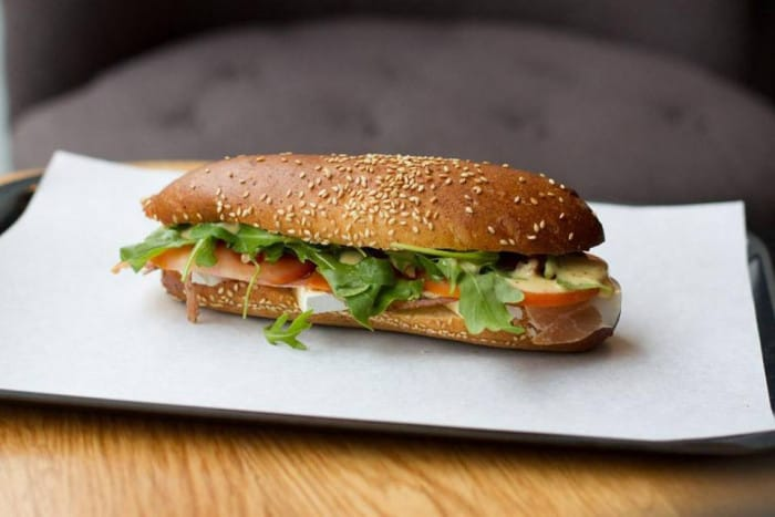Sandwich Hungry Bear