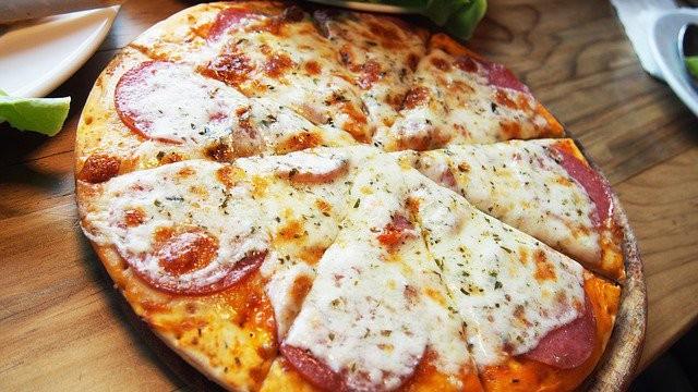 Pizza connectée