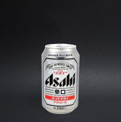 Canette de bière Asahi