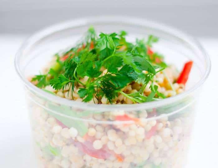 Salade de Quinoa et Perles de blé