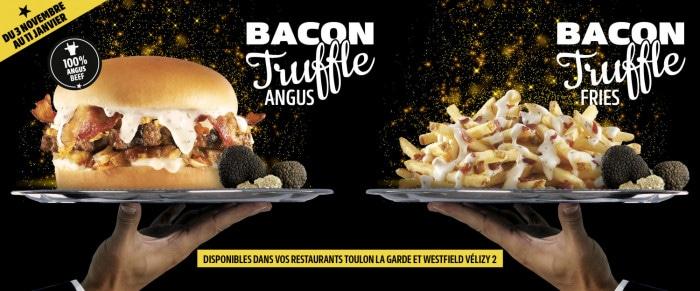 Bacon Truffle Burger