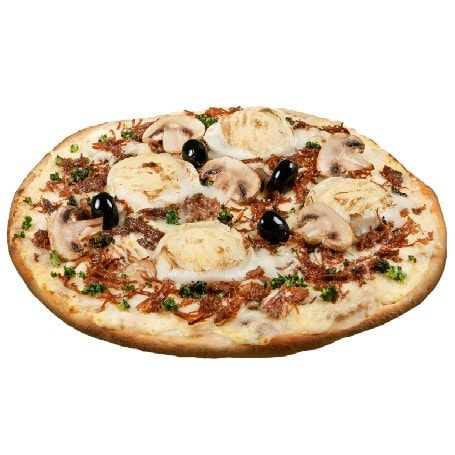 La pizza Forestière
