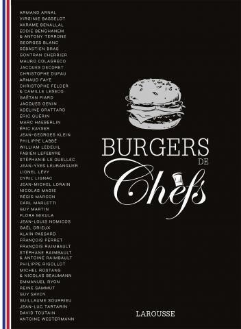 Couverture du livre Burgers de Chefs