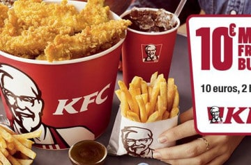 10 euros pour deux : le nouveau Menu Friends Bucket de KFC