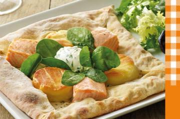 2 pizzas Tablapizza qui rendent très gourmand