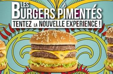 3 burgers pimentés en exclusivité chez Speed Burger