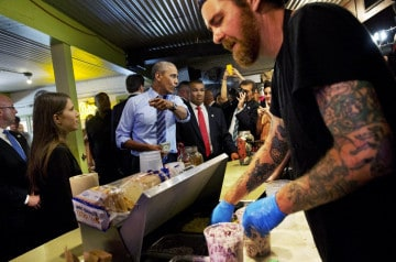 300 dollars d'addition pour Obama