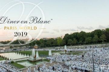 31e édition du Dîner en Blanc à Paris le 6 juin 2019