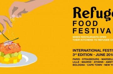 3e édition du Refugee Food Festival jusqu'au 24 juin