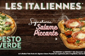4 nouvelles pizzas chez Domino's Pizza