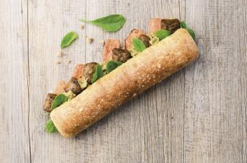 4 sandwiches végétariens Class'Croute pour déjeuner léger