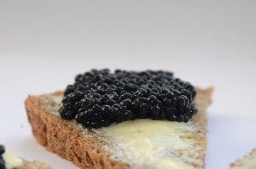 5 recettes au caviar pour le réveillon du Nouvel An