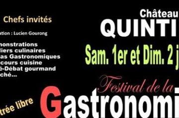 7e Festival de la gastronomie de Quintin les 1er et 2 juin