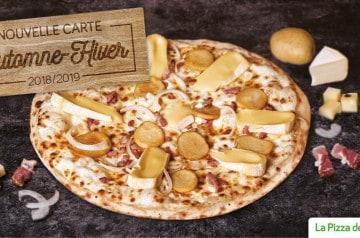 8 nouvelles pizzas à La pizza de Nico
