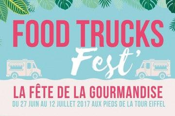 Agenda gastronomie : le Food Trucks Fest' à Paris