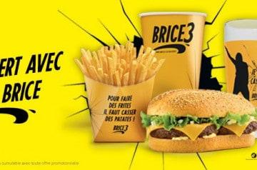 Avez-vous déjà commandé le menu Brice de Quick?