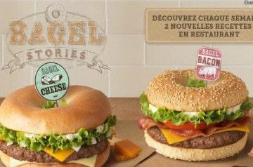 Bagel  Stories chez Mc Donald's