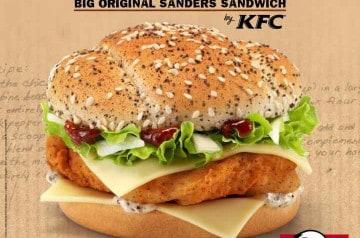 Big Original Sanders Sandwich KFC