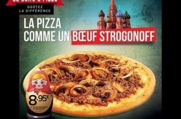 Bœuf Strogonoff façon La Boîte à Pizza