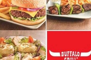 Bon plan Buffalo Grill pour la rentrée