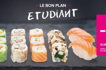 Bon plan étudiant chez Planet Sushi