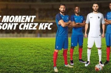 Bon plan Euro 2016 chez KFC