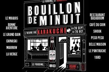 Bouillon de Minuit : des dîners d'exception à Paris