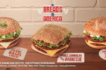 Bread and America Mc Donald's