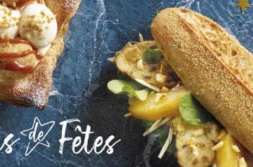 Brioche Dorée crée 2 sandwiches pour les fêtes