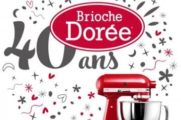 Brioche Dorée fête ses 40 ans