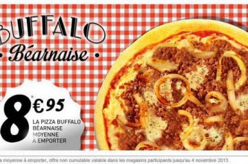 Buffalo Béarnaise La Boîte à Pizza
