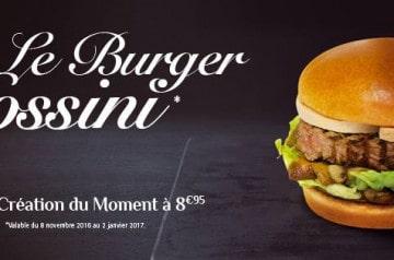 Burger au foie gras chez Mythic Burger
