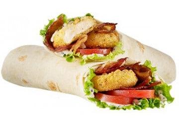 Chez Speed Burger, les wraps sont les rois de l'été