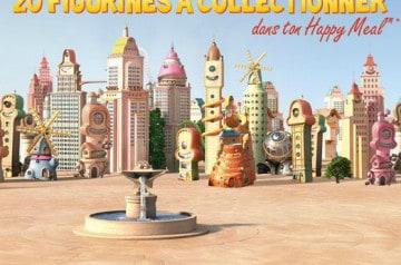 Coffret Collector Happy chez Mc Donald's