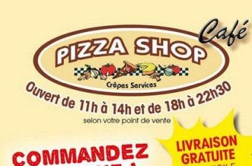 Commander des pâtes chez Pizza Shop